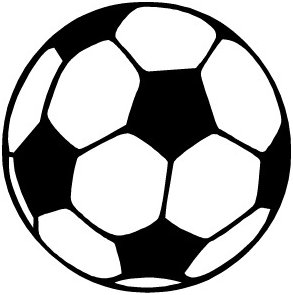 Soccer ball clipart free images 5