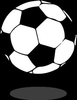 Soccer on soccer ball clip art and award certificates