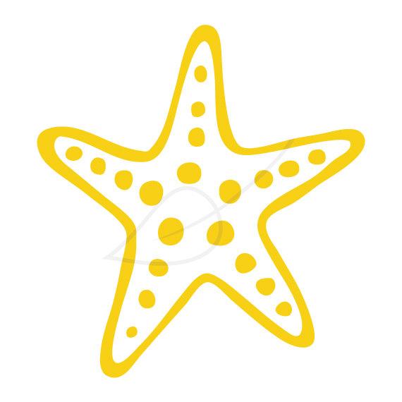 Starfish clipart 6