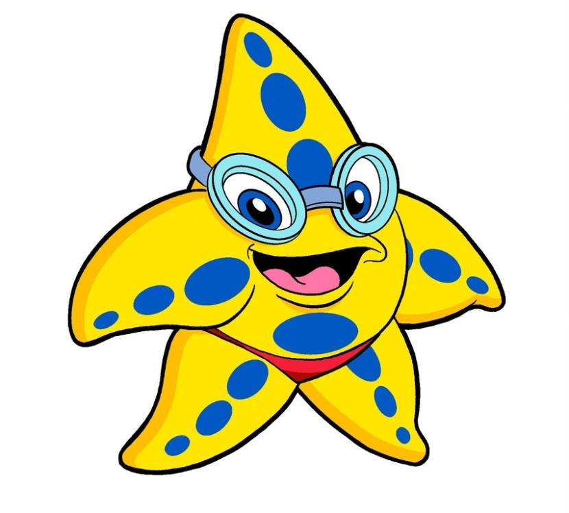 Starfish clipart 8