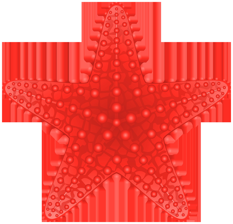 Starfish transparent clip art image