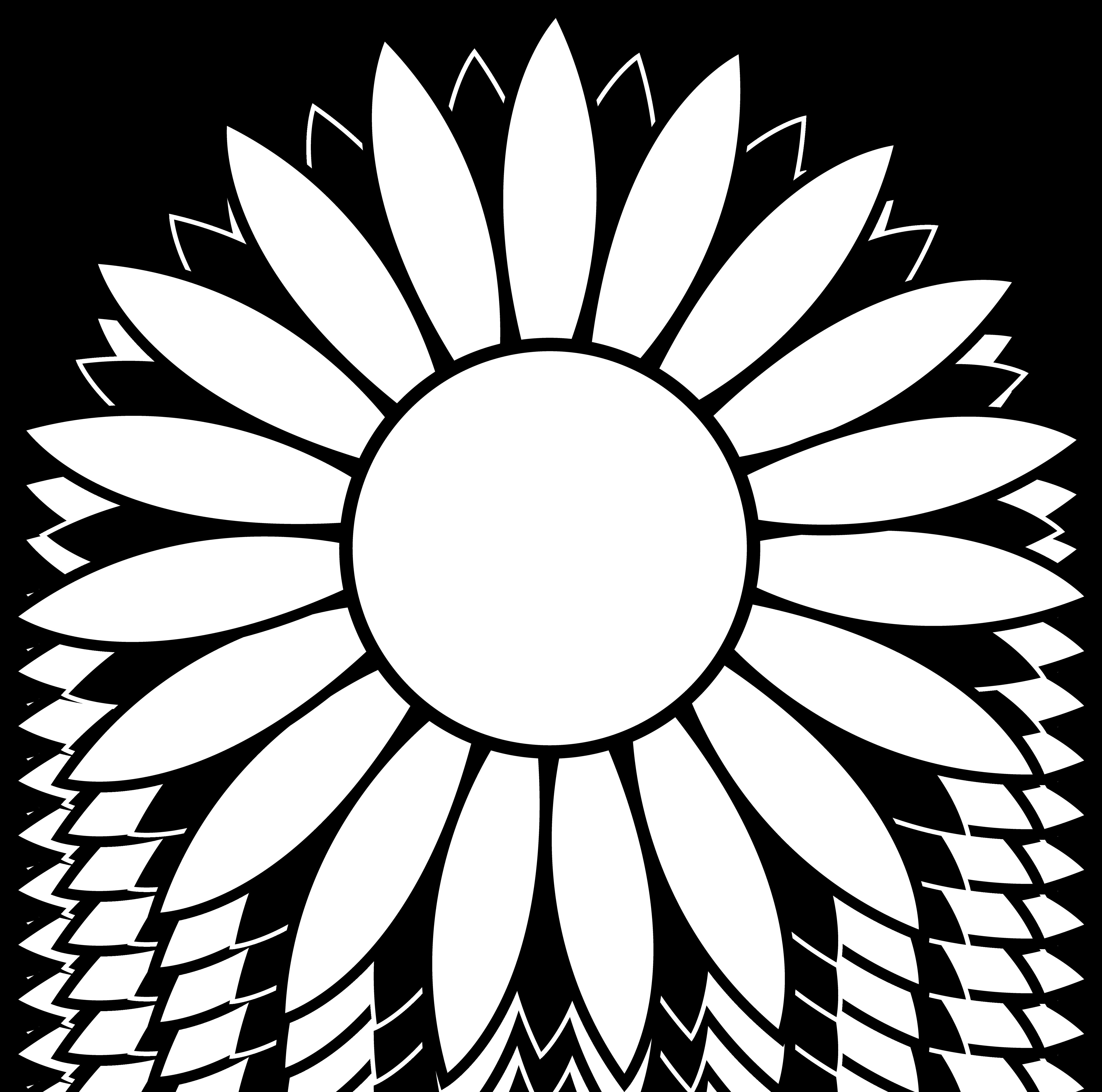Sunflower clip art clipart 2