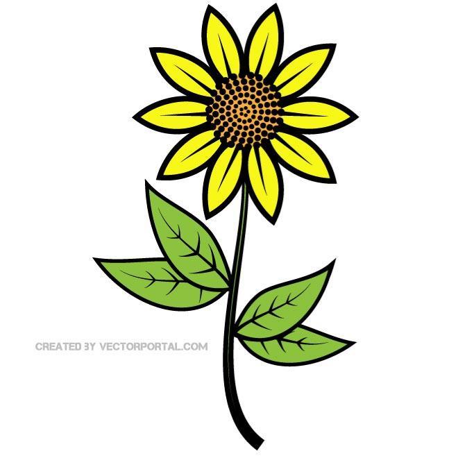 Sunflower clip art free clipart images 2 clipartbold