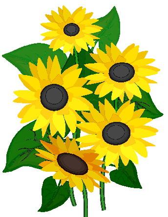 Sunflower clip art free printable clipart 2 3