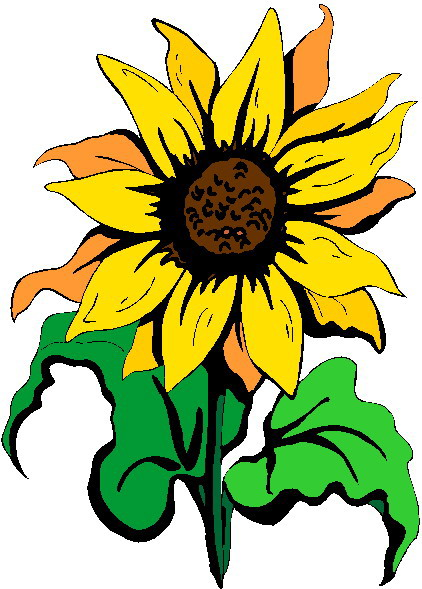 Sunflower clip art free printable clipart 2 7