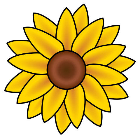 Sunflower clip art free printable clipart 2