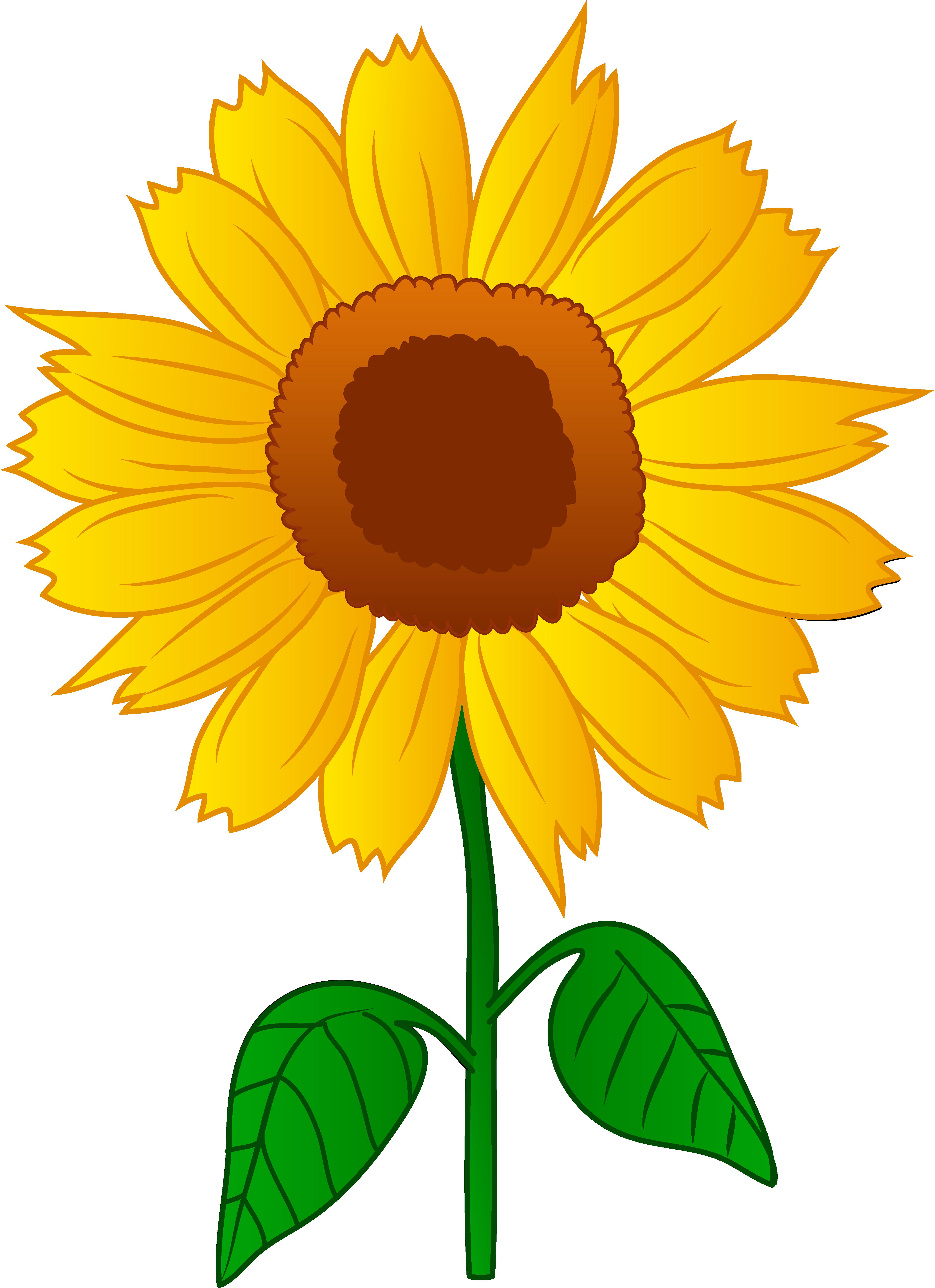Sunflower clip art free printable clipart