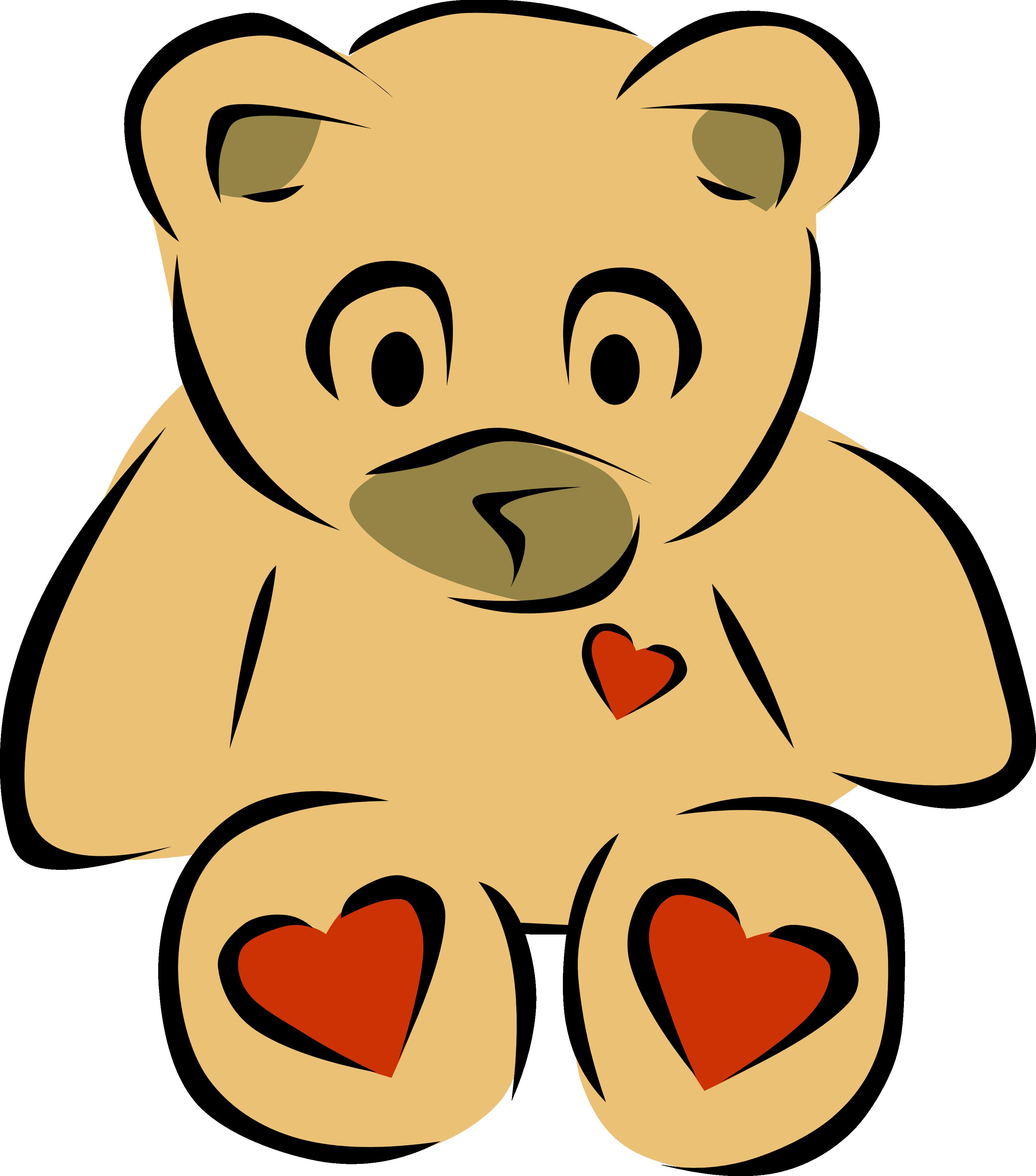 Teddy bear clip art bear heart 2 christmas xmas teddy clipart