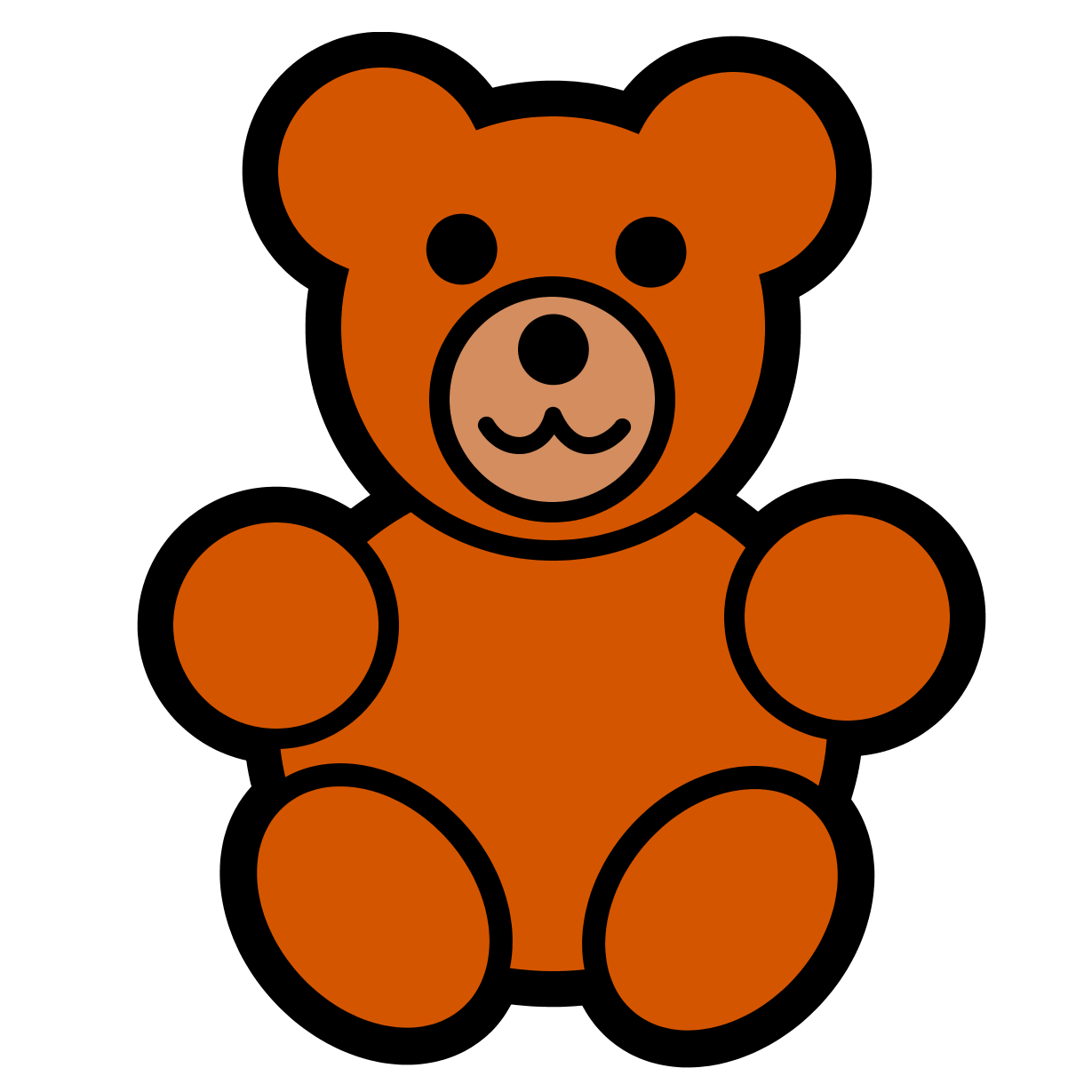 Teddy bear clipart free images 3
