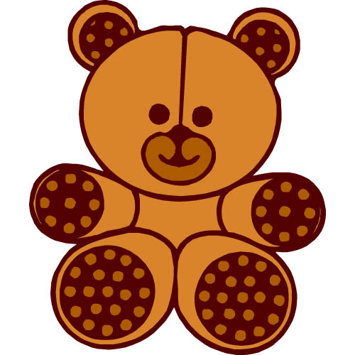 Teddy bear clipart free images 8