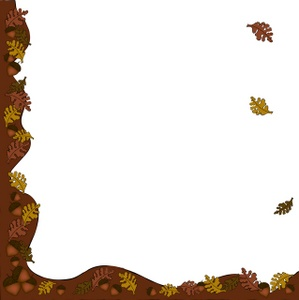 Thanksgiving border clipart free images 12