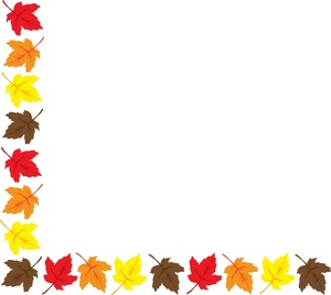 Thanksgiving border clipart free images 13