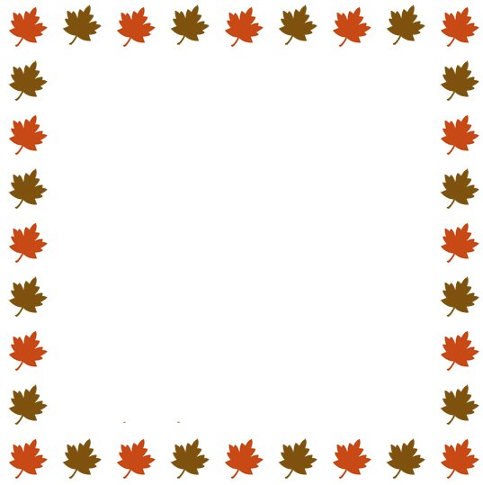 Thanksgiving border clipart free images 8