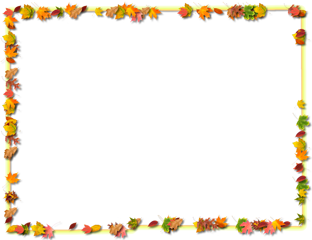 Thanksgiving border clipart free images