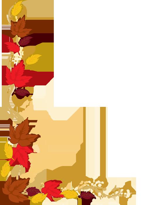 Thanksgiving borders clipart 4