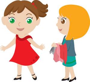 Two friends clipart free images