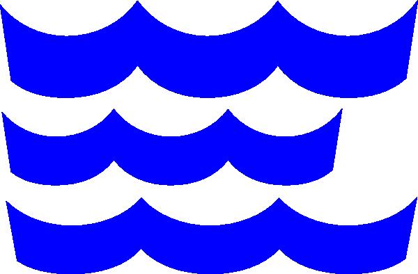 Wave clip art blue download vector clip