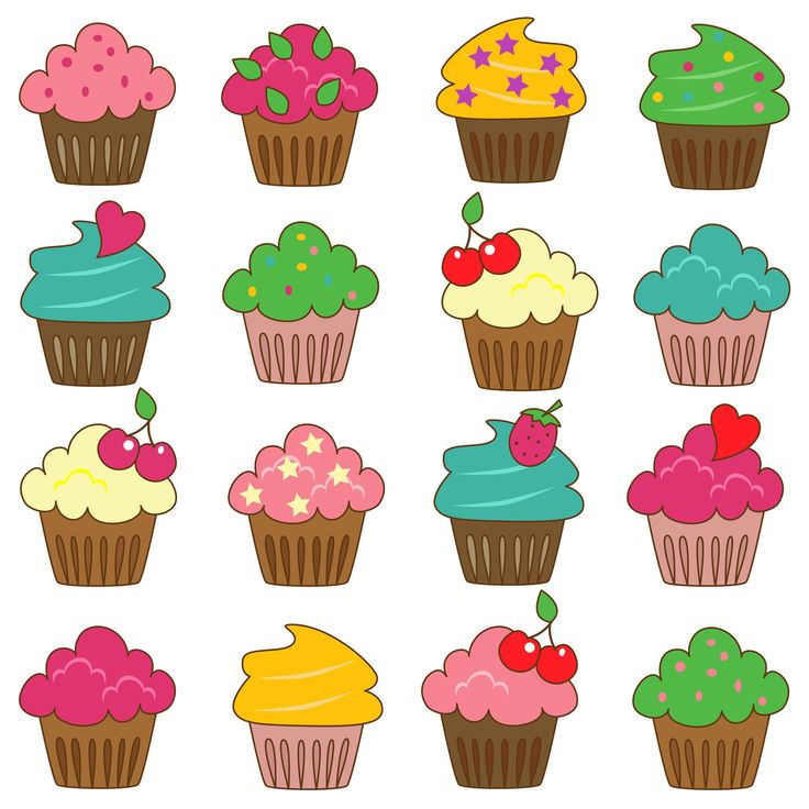 0 ideas about cupcake clipart on 2
