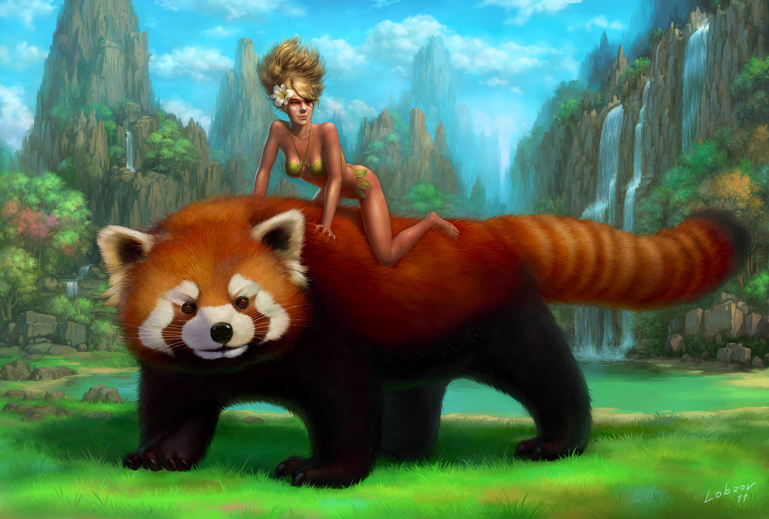 0 images about red panda for daniel on clipart