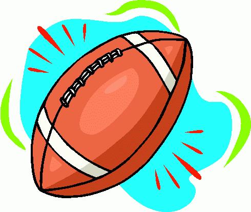 American football clip art 3
