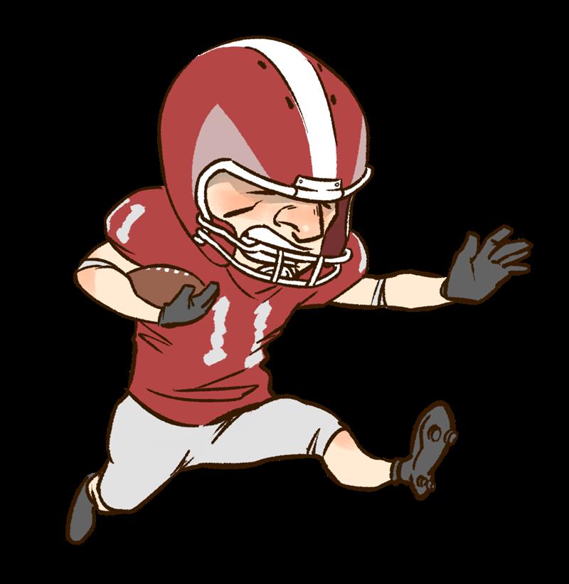 American football clip art 4