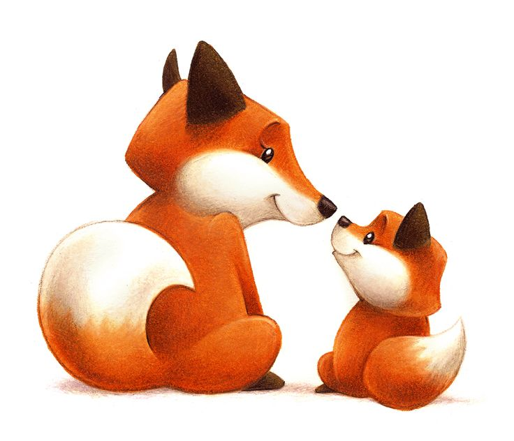 Baby fox clipart free images 3