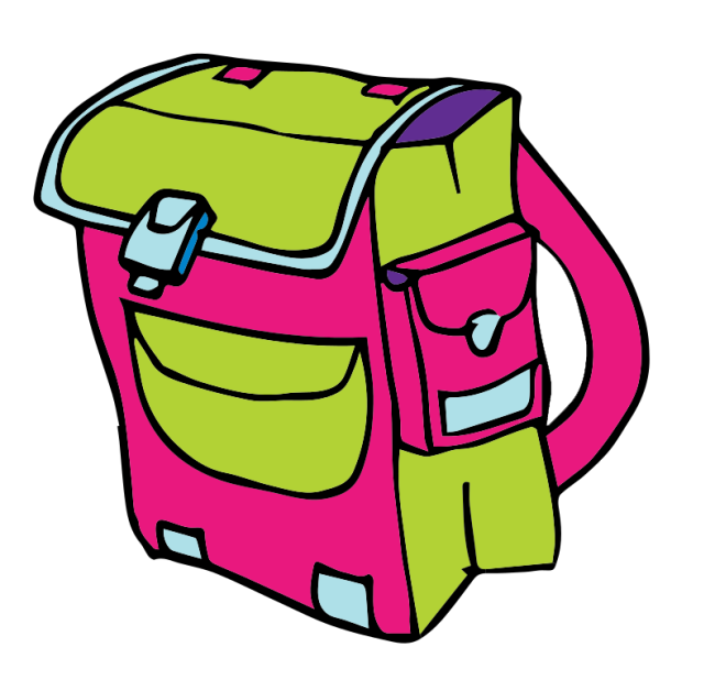 Backpack clip art gallery