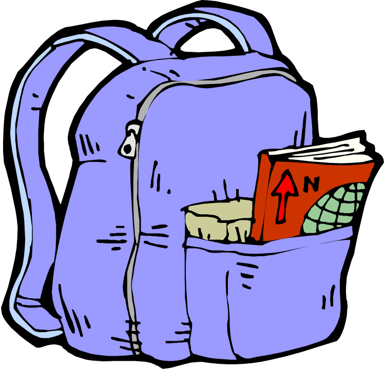 Backpack clipart 4