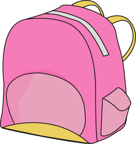 Backpack clipart free images 2