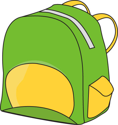 Backpack clipart free images 3