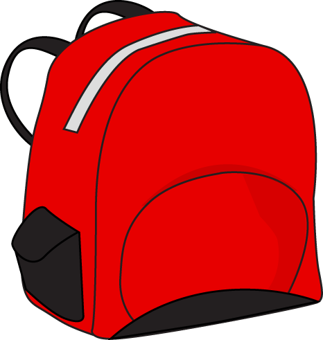 Backpack clipart free images 4