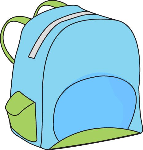 Backpack clipart free images clipart