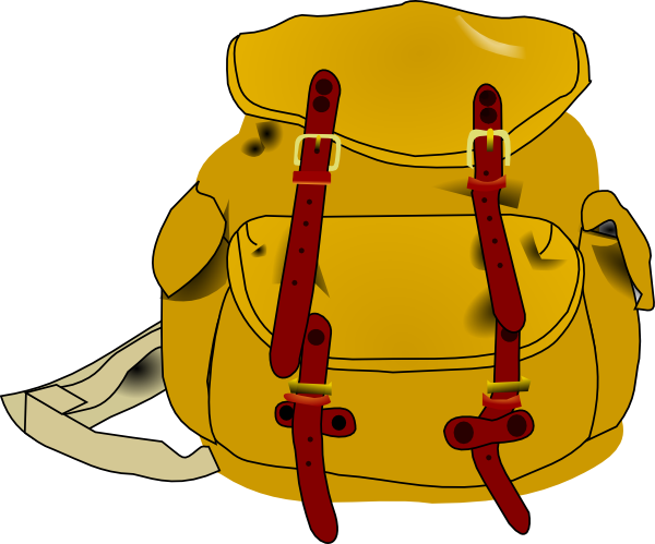 Backpack clipart the cliparts
