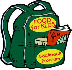 Backpack drive clipart