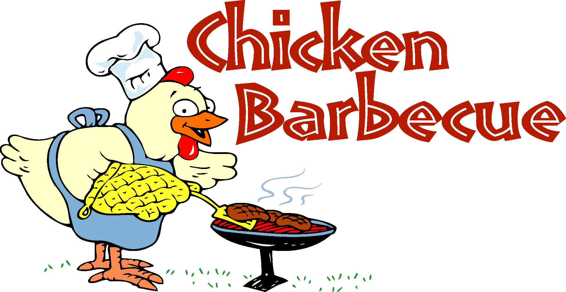 Bbq chicken clipart