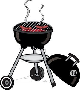 Bbq grill clipart free