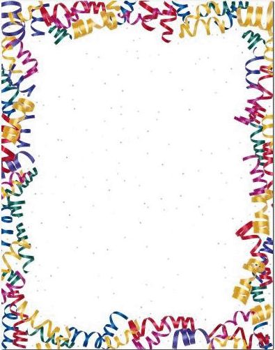 Birthday border clipart tumundografico 4