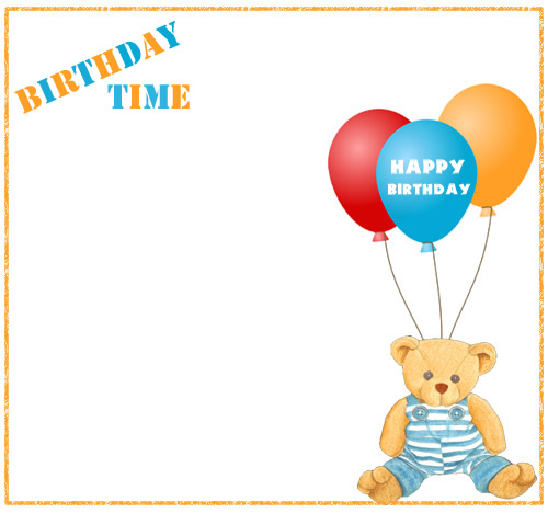 Birthday border free birthday clip art borders clipart images 3