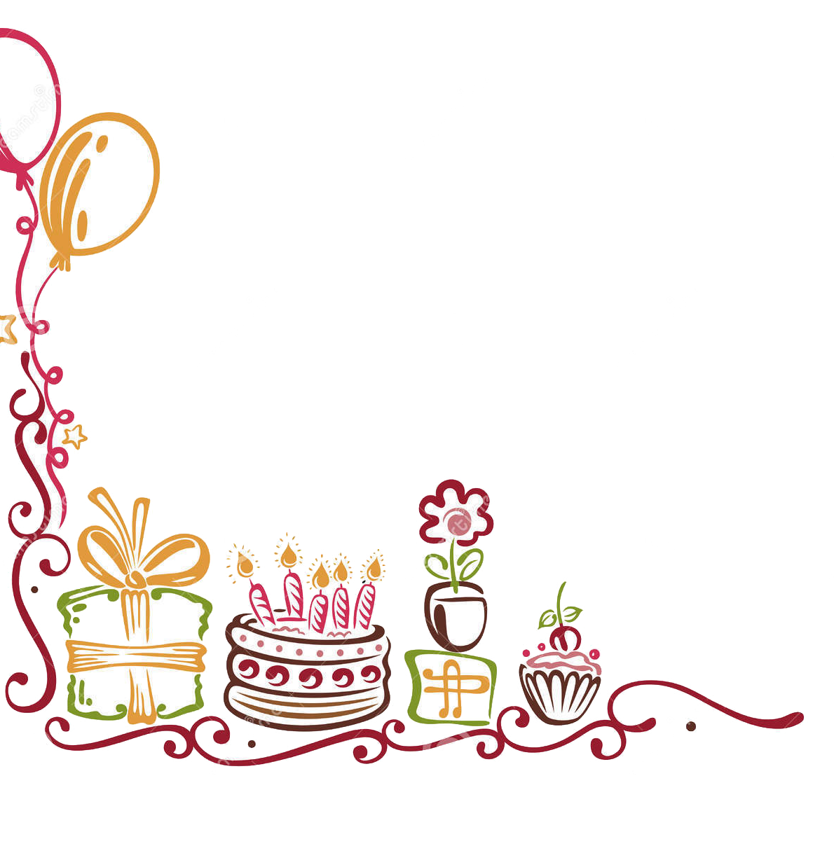 Birthday border the world 3