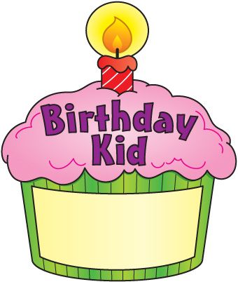 Birthday cupcake clipart images 2