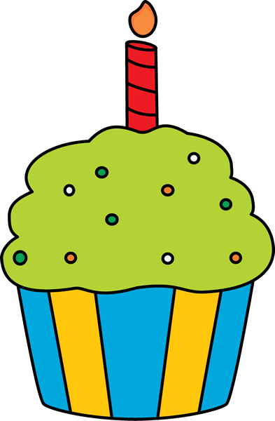 Birthday cupcake clipart images 4
