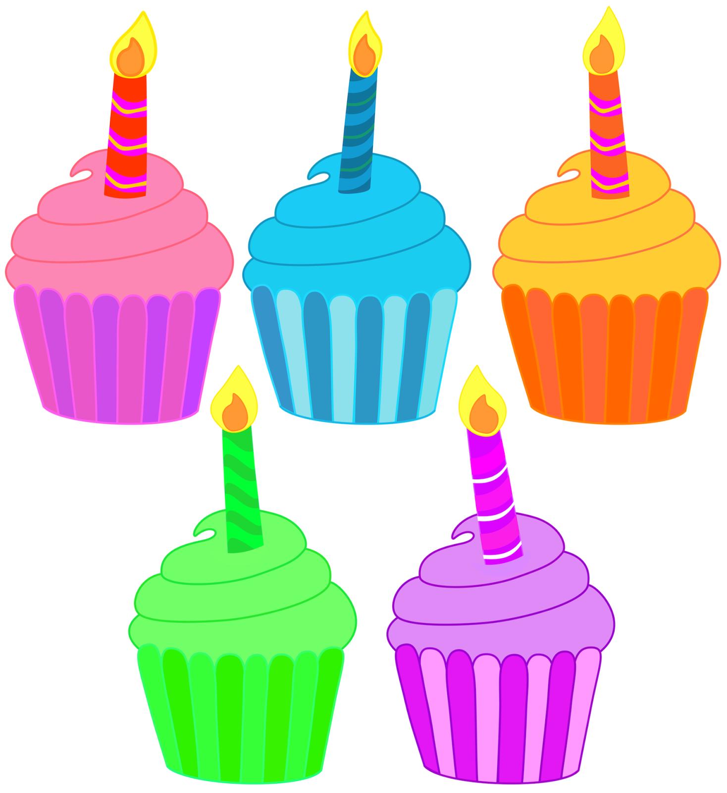 Birthday cupcake clipart tumundografico