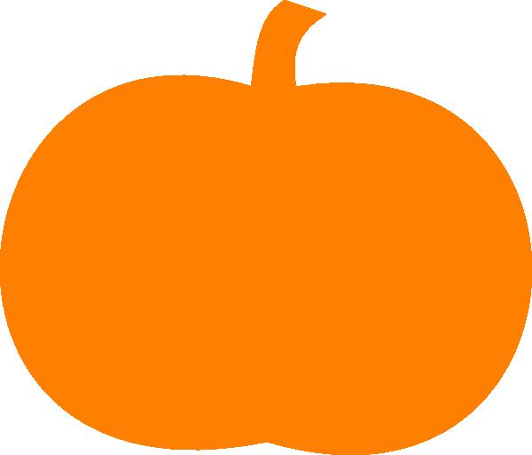 Black pumpkin clipart