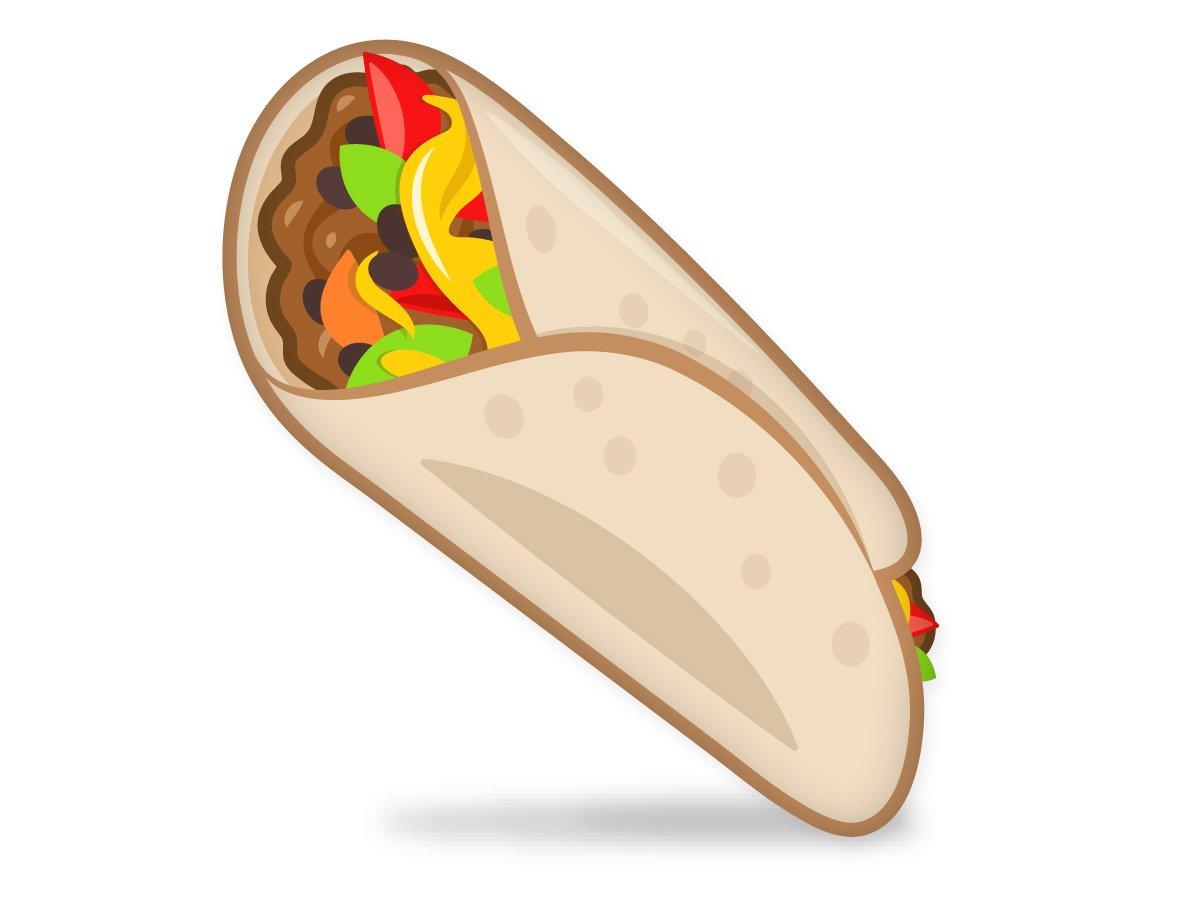 Burrito taco clip art image clipart