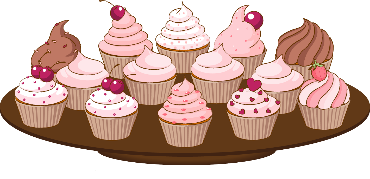 Cake and cupcake clipart