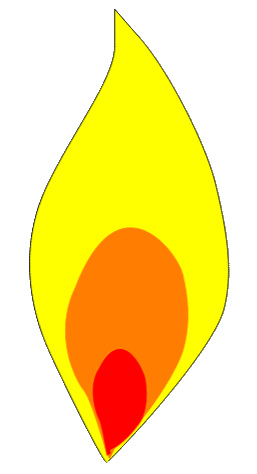 Candle flame image free clipart images