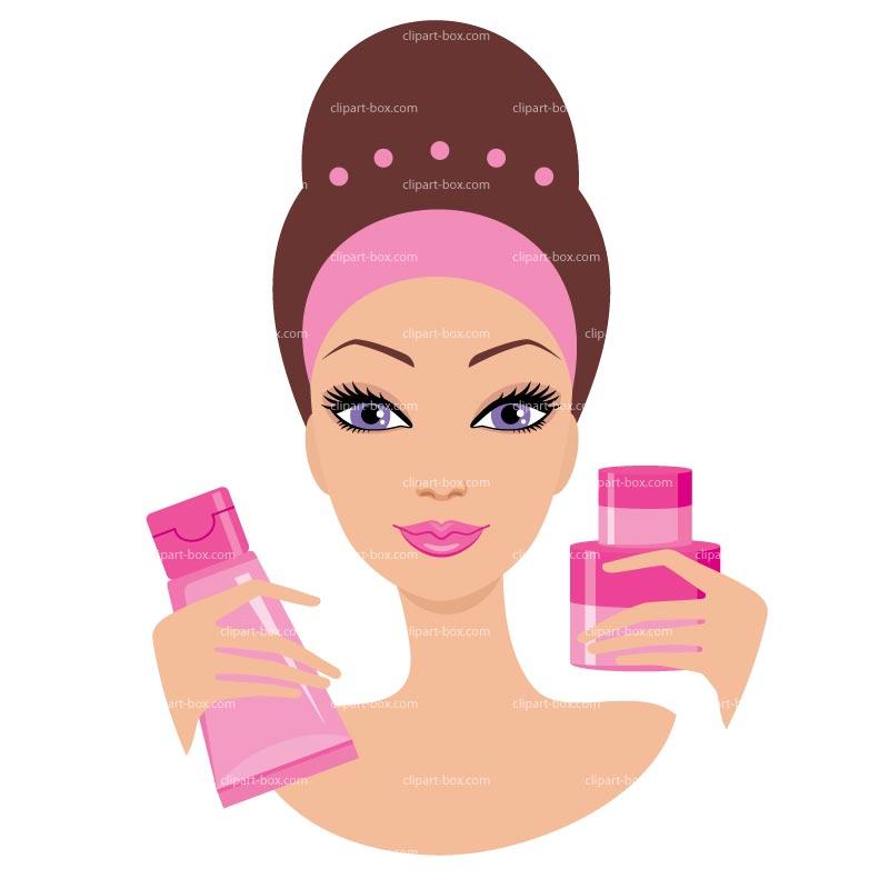 Cartoon makeup clipart 3