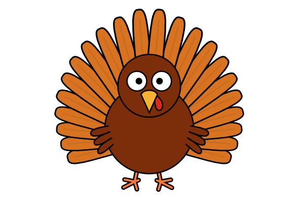Cartoon turkey clipart clipart