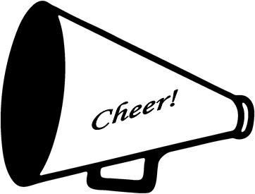 Cheerleading megaphone clipart tumundografico 4