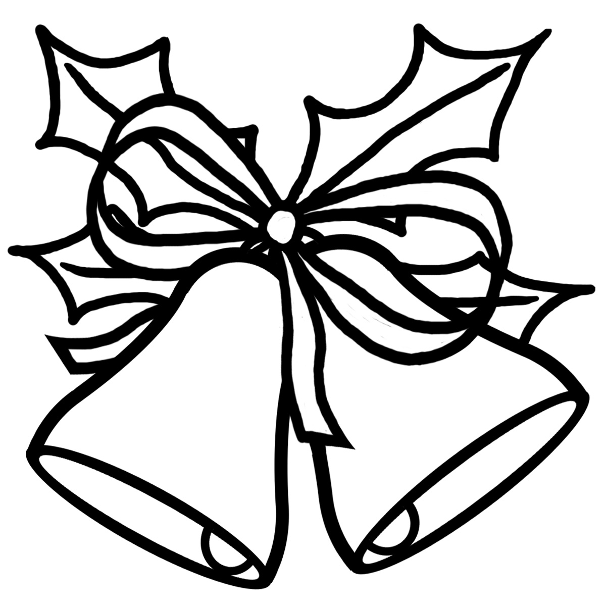 Christmas  black and white black and white christmas clip art free 3
